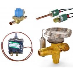 Датчики давления, клапаны, термостаты, ТРВ