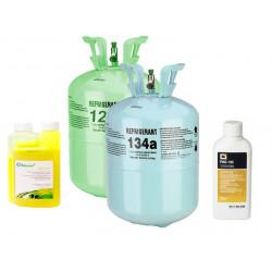 Химические компоненты и фреон
