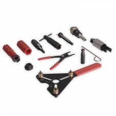 Инструмент для снятия и установки электромагнитной муфты компрессора, подшипники и др.