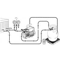 Сбор хладагента из холодильного контура систем охлаждения и кондиционирования воздуха