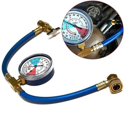 Комплект для заправки автокондиционеров AL801G70 (металл)