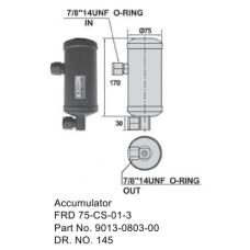F-A фильтр - ресивер (аккумулятор) 9013-0803-00