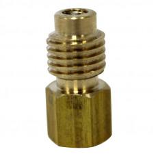 """Адаптер 1/4""""SAE-Fx1/2"""" ACME-M с золотником 82634 (Адаптеры для автокондиционеров с R-12 на R-134a)"""