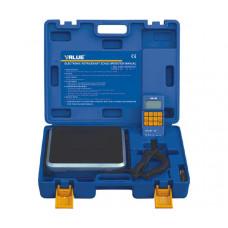 Электронные весы до 100 кг для взвешивания фреона любых других веществ, материалов, грузов