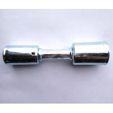 Фитинг АC-U07207 врезной «сростка», под обжим, сталь, 3/8-1/2, G6-G8, №6-№8, #6-#8 (8-10мм), 180°, со стаканами