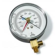 Вакуумметр 80 мм. с клапаном