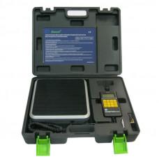 Весы электронные в кейсе (разрешение 2 гр. взвешивание до 50 кг.) для взвешивания хладагента